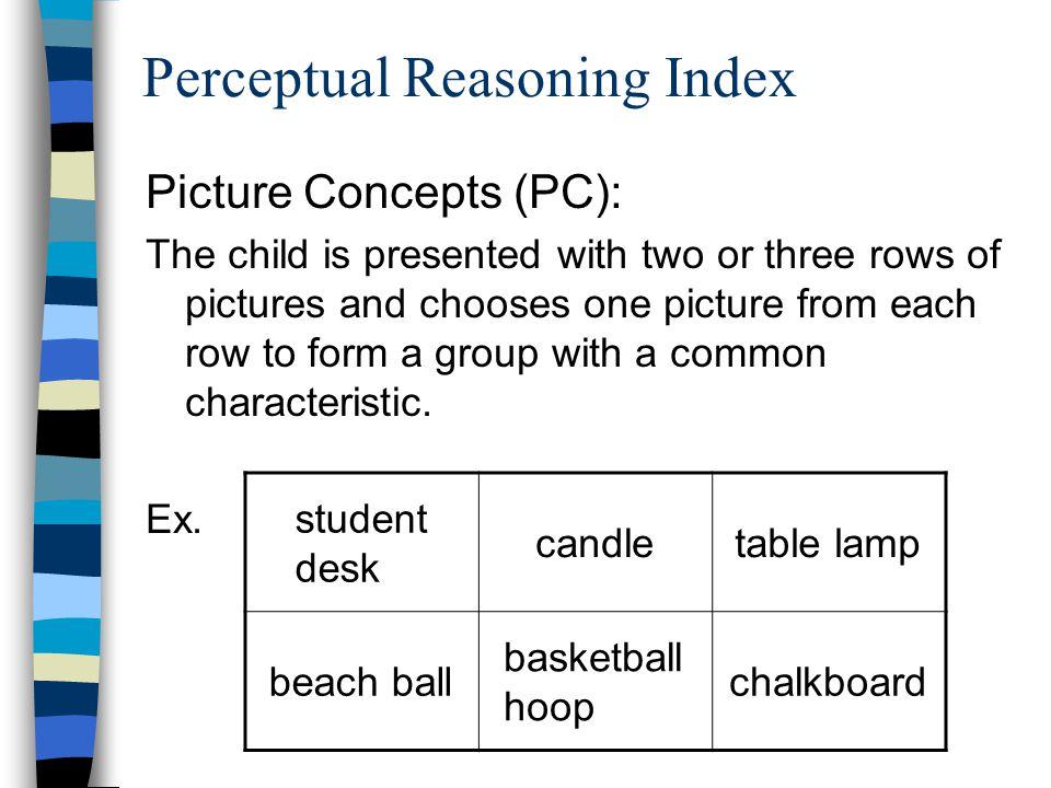 Perceptual Reasoning Index
