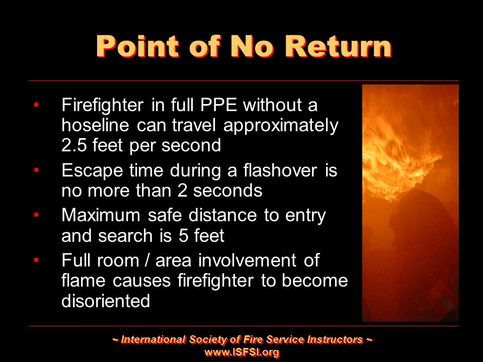 ~ International Society of Fire Service Instructors ~