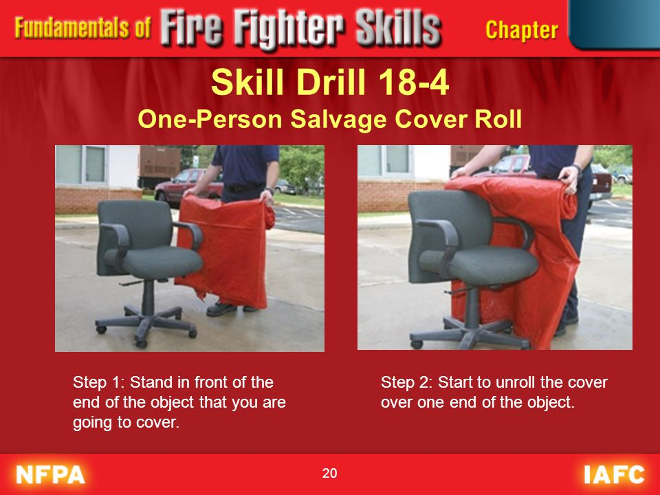 Skill Drill 18-4 One-Person Salvage Cover Roll