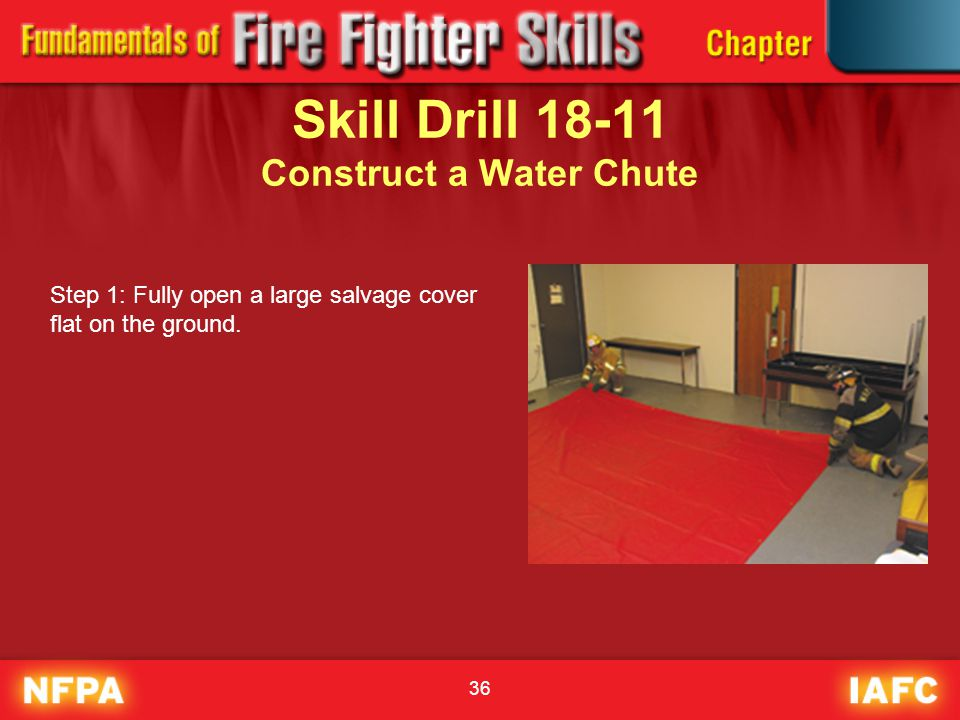 Skill Drill 18-11 Construct a Water Chute