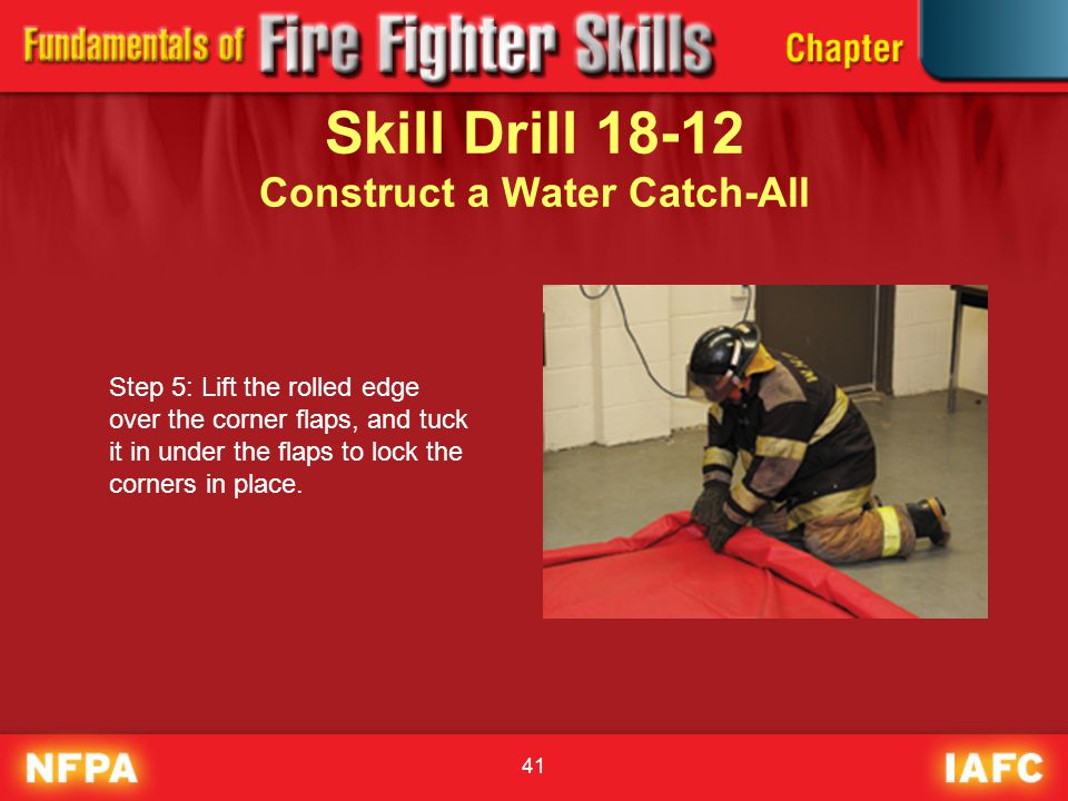 Skill Drill 18-12 Construct a Water Catch-All