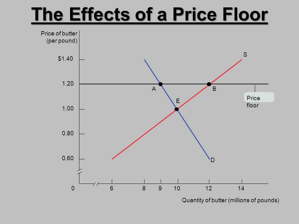 The Effects of a Price Floor