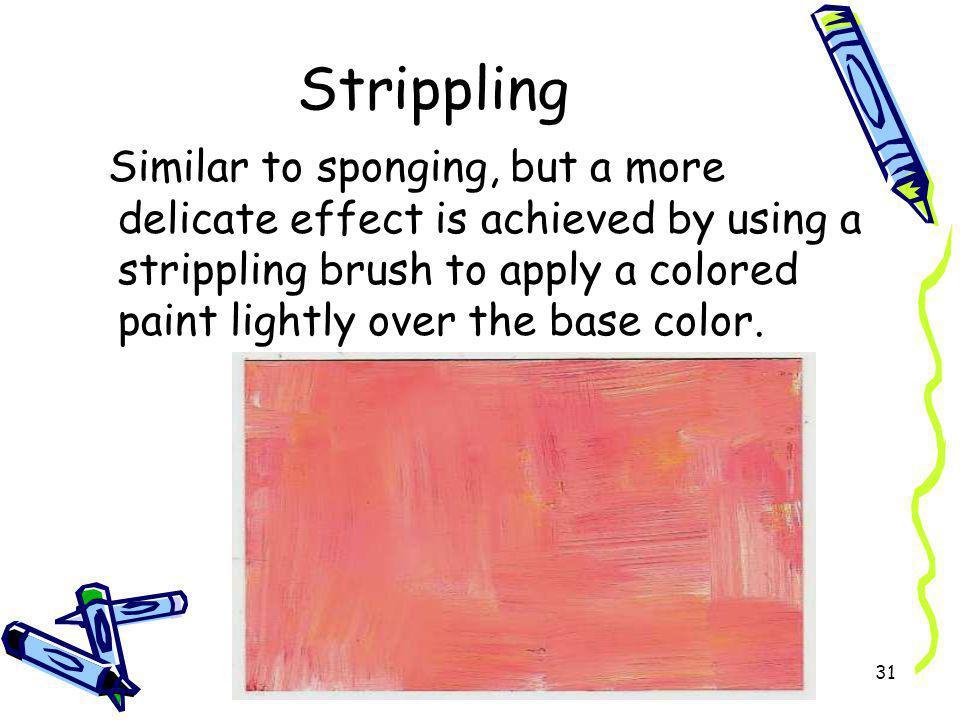 Strippling