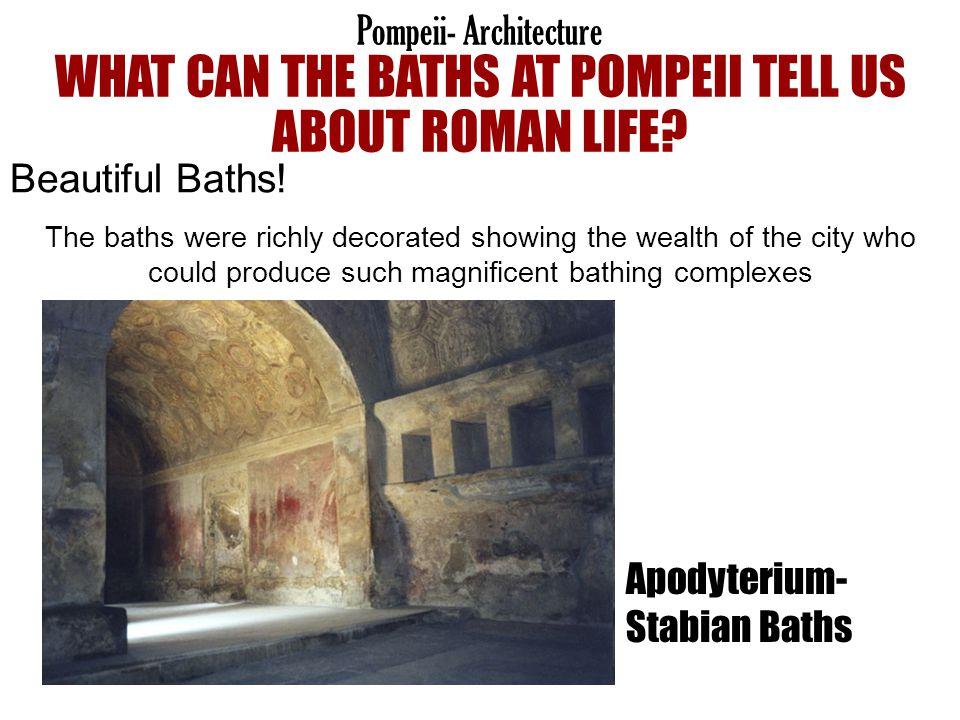 Apodyterium- Stabian Baths