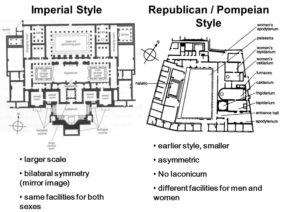 Republican / Pompeian Style
