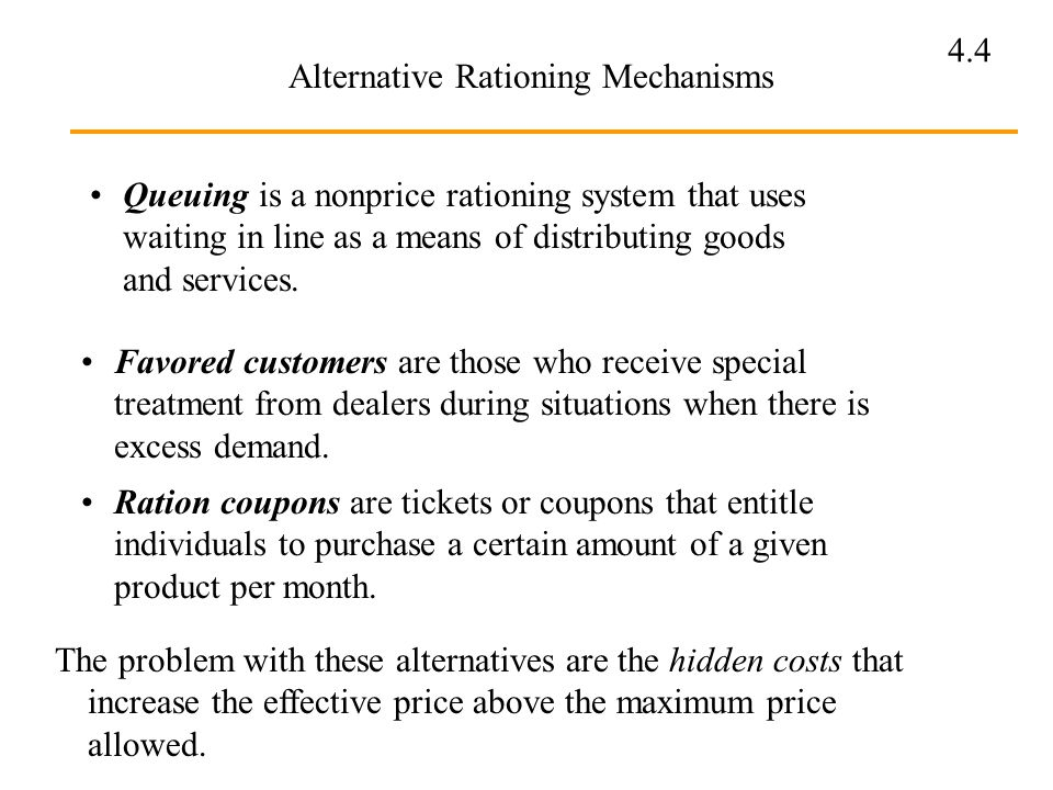 how does a price ceiling undermine the rationing function of market determined prices Summary how does a price ceiling undermine the rationing function of market-determined prices how could rationing coupons insure that consumers with the highest.