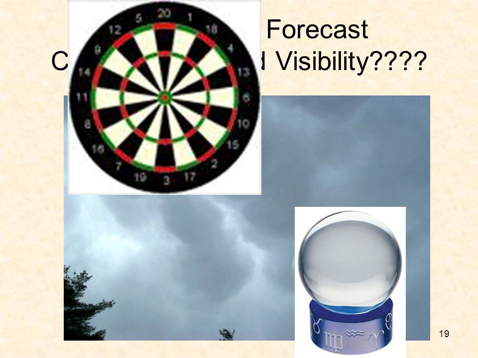 How Do You Forecast Ceiling Height and Visibility