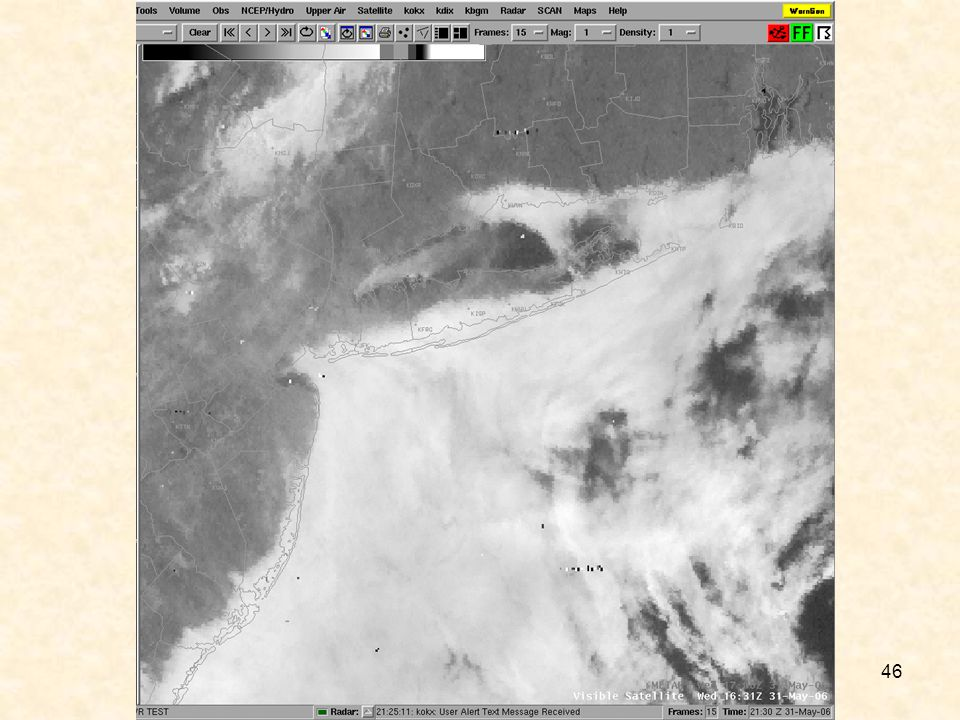 Local Visible from 1631Z Note extent of stratus onshore.