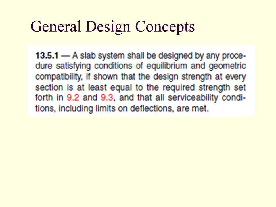 General Design Concepts