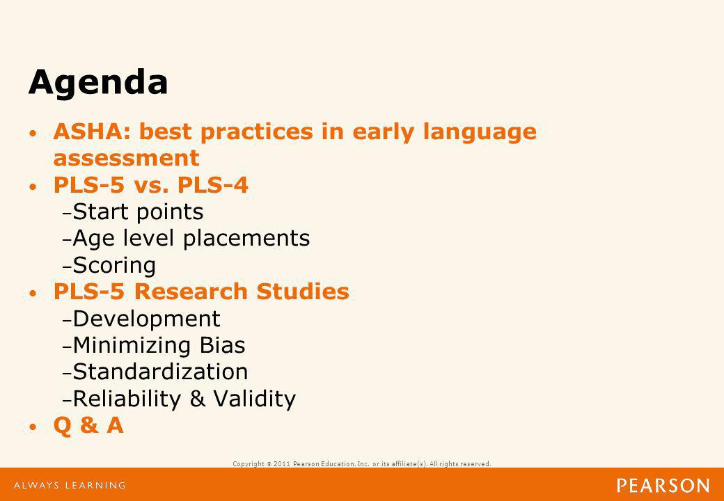 Course objectives describe at least two principles identified by ASHA as best practices in early language assessment.