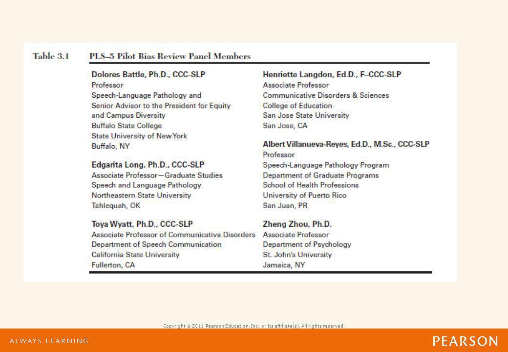 Minimizing Bias Current literature review Clinician surveys