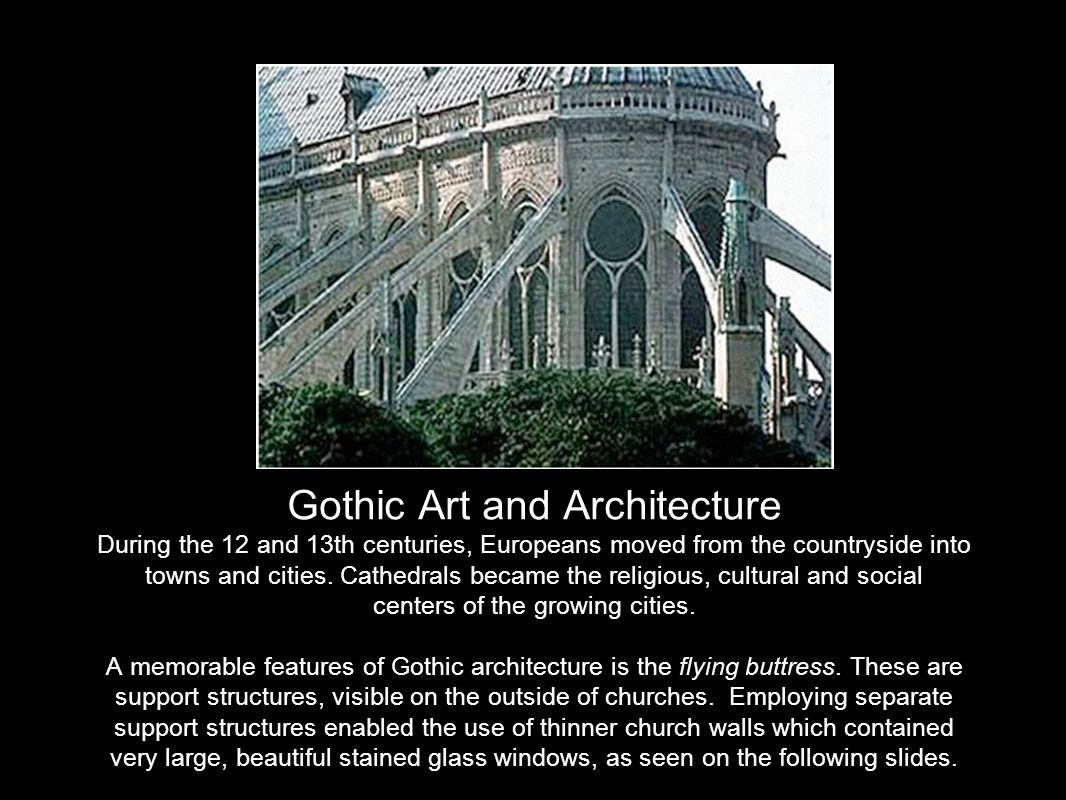 24 Gothic Art And Architecture ...