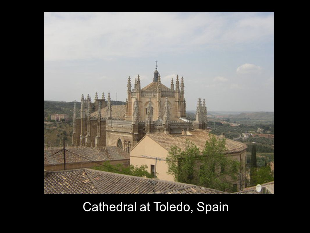 Cathedral at Toledo, Spain
