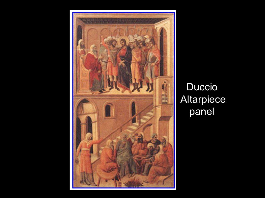 Duccio Altarpiece panel