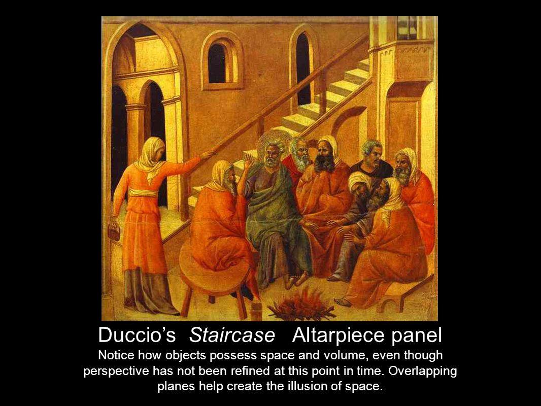 Duccio's Staircase Altarpiece panel