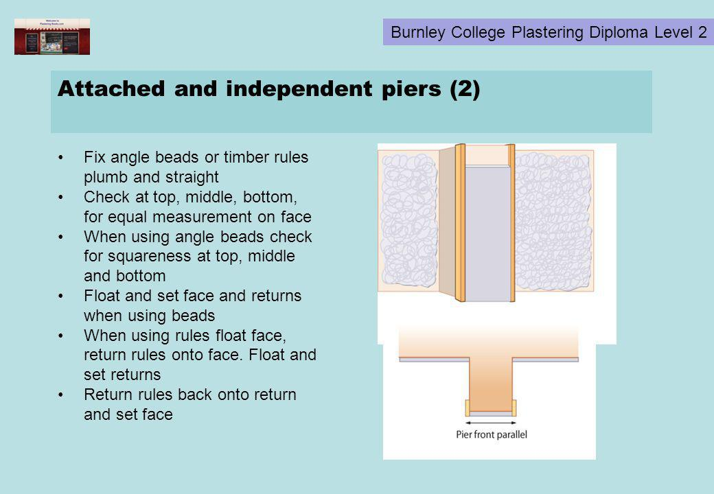 Attached and independent piers (2)
