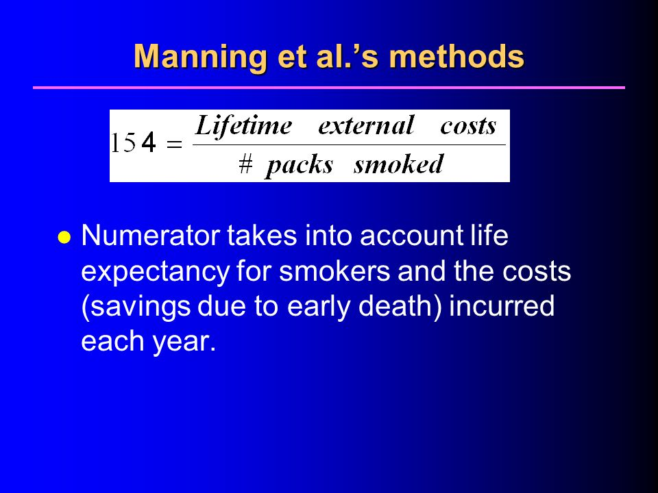 Manning et al.'s methods