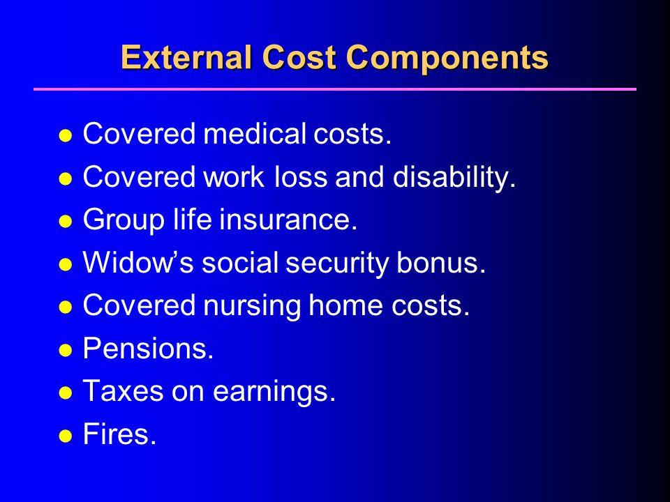 External Cost Components