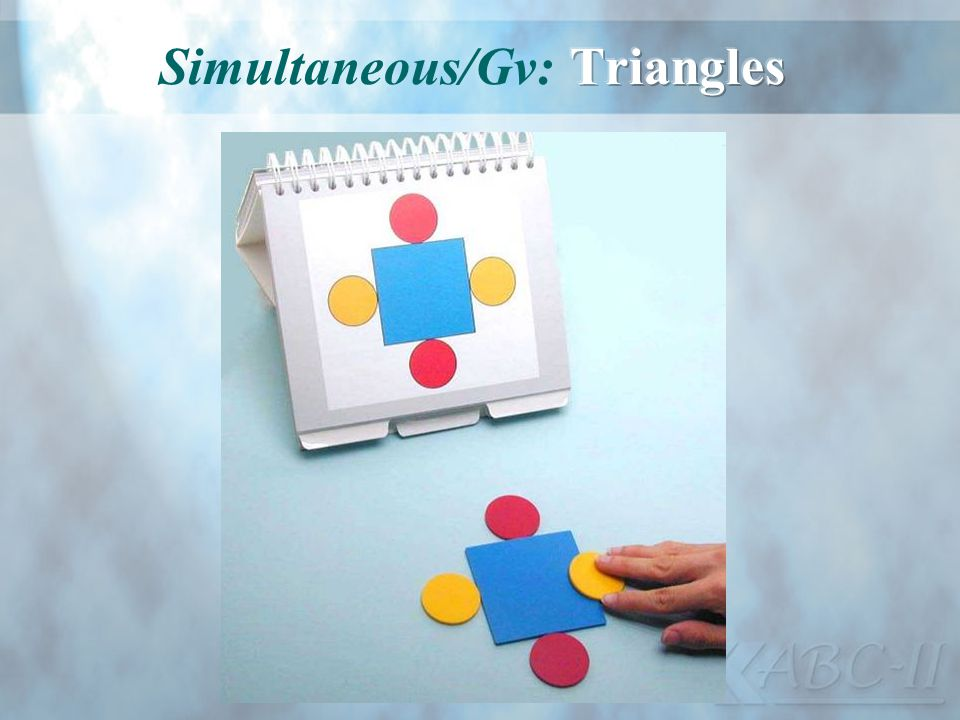 Simultaneous/Gv: Triangles