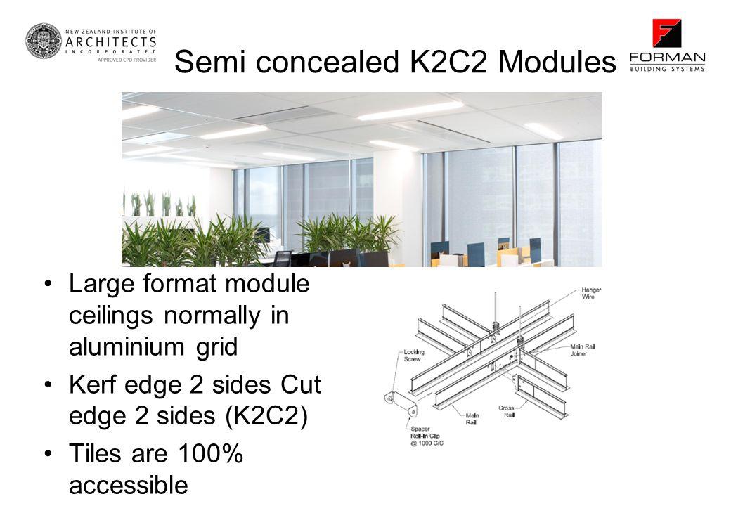 Semi concealed K2C2 Modules