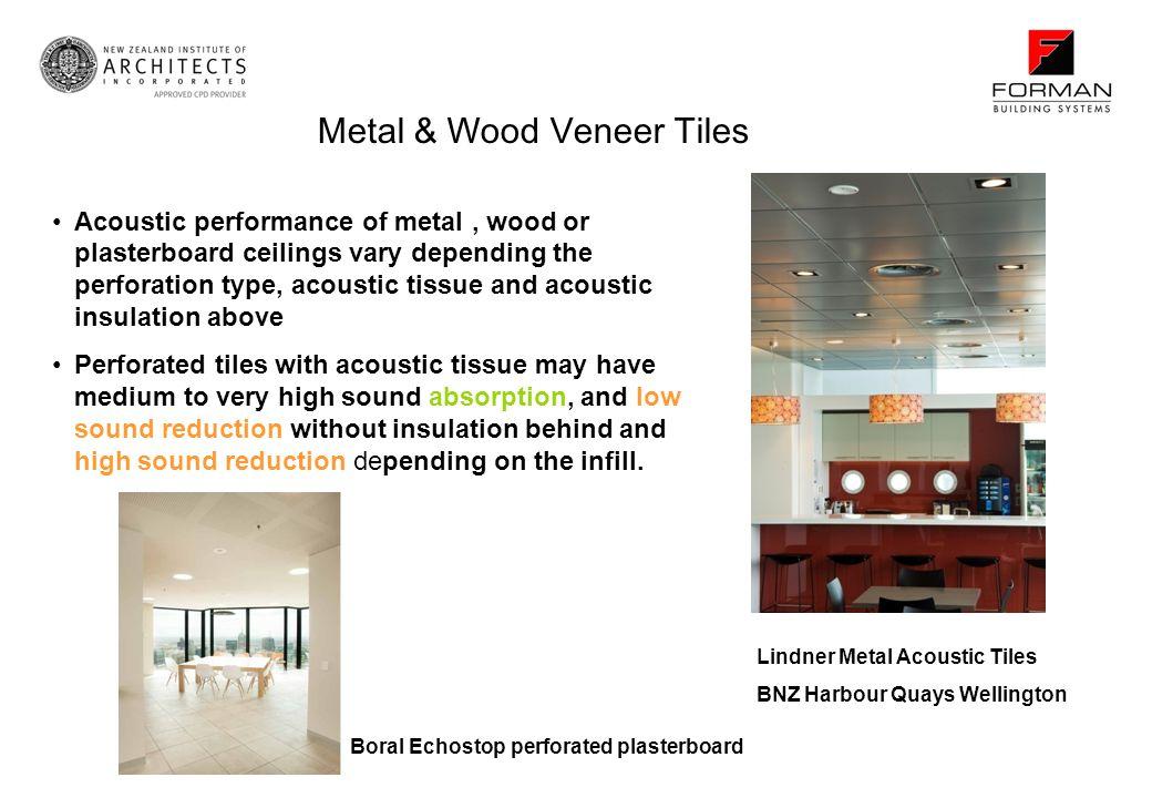 Metal & Wood Veneer Tiles