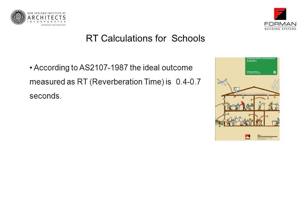 RT Calculations for Schools