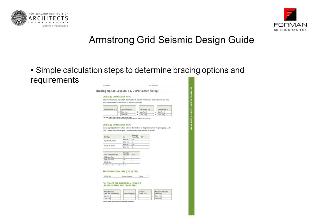 Armstrong Grid Seismic Design Guide