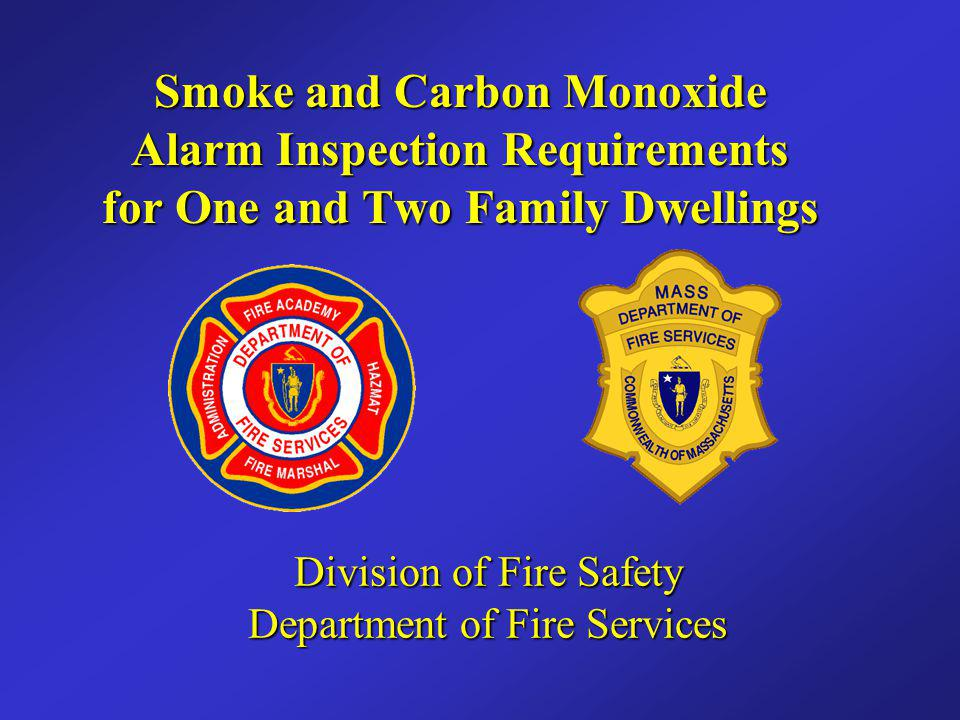 Division of Fire Safety Department of Fire Services