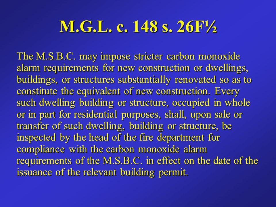 M.G.L. c. 148 s. 26F½