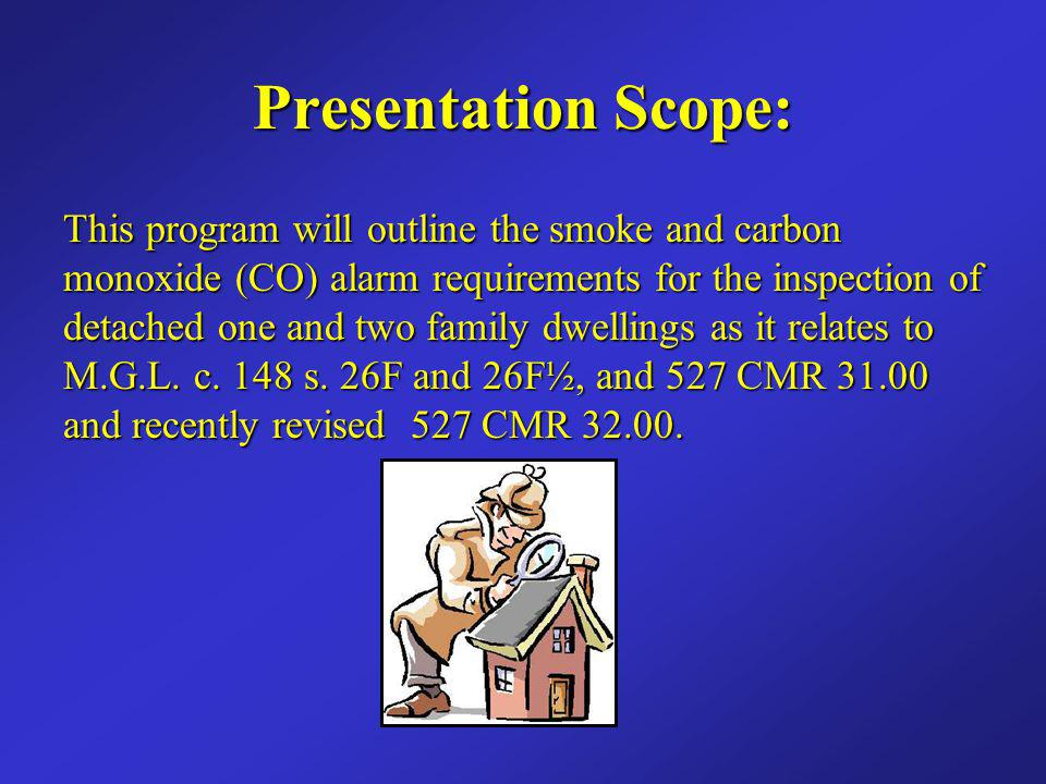 Presentation Scope: