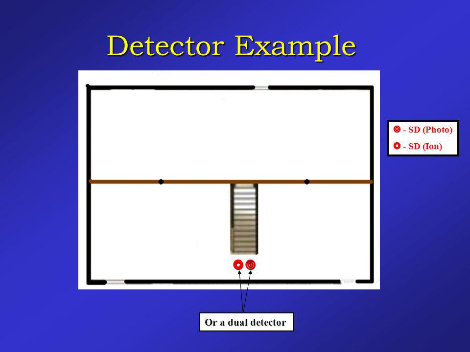 Detector Example  - SD (Photo)  - SD (Ion)  Or a dual detector