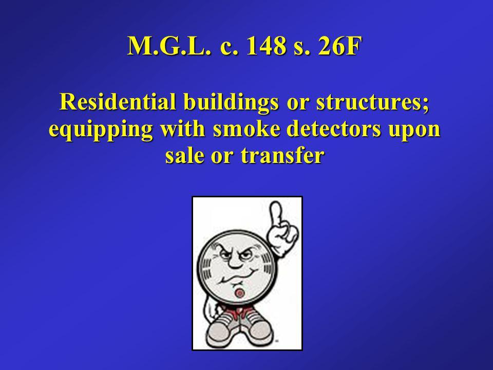 M.G.L. c. 148 s.