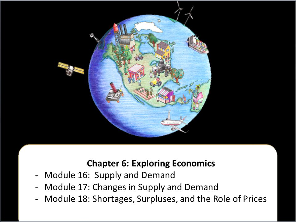 Chapter 6: Exploring Economics