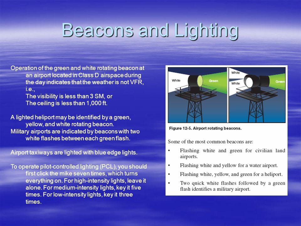 Beacons and Lighting