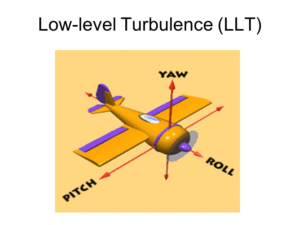 Low-level Turbulence (LLT)
