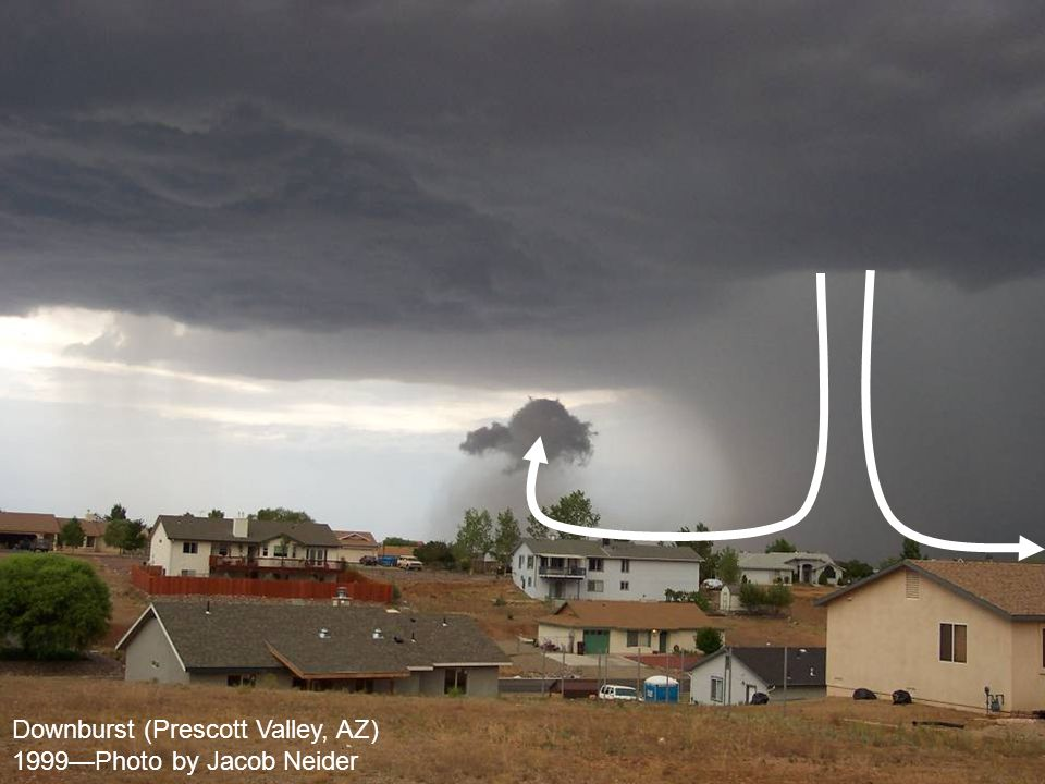 Downburst (Prescott Valley, AZ)