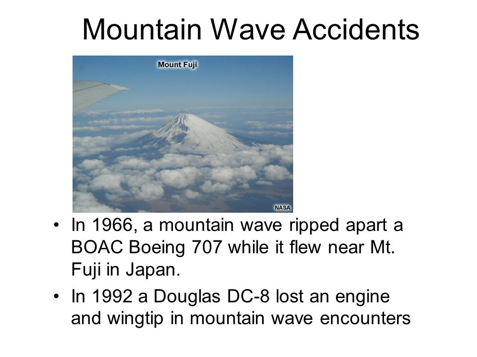 Mountain Wave Accidents