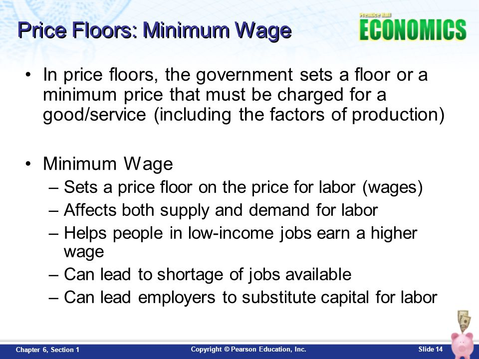 Price Floors: Minimum Wage