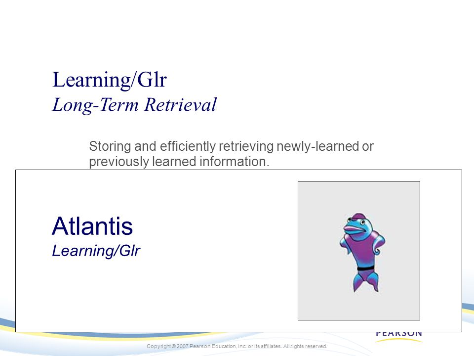 Atlantis Learning/Glr
