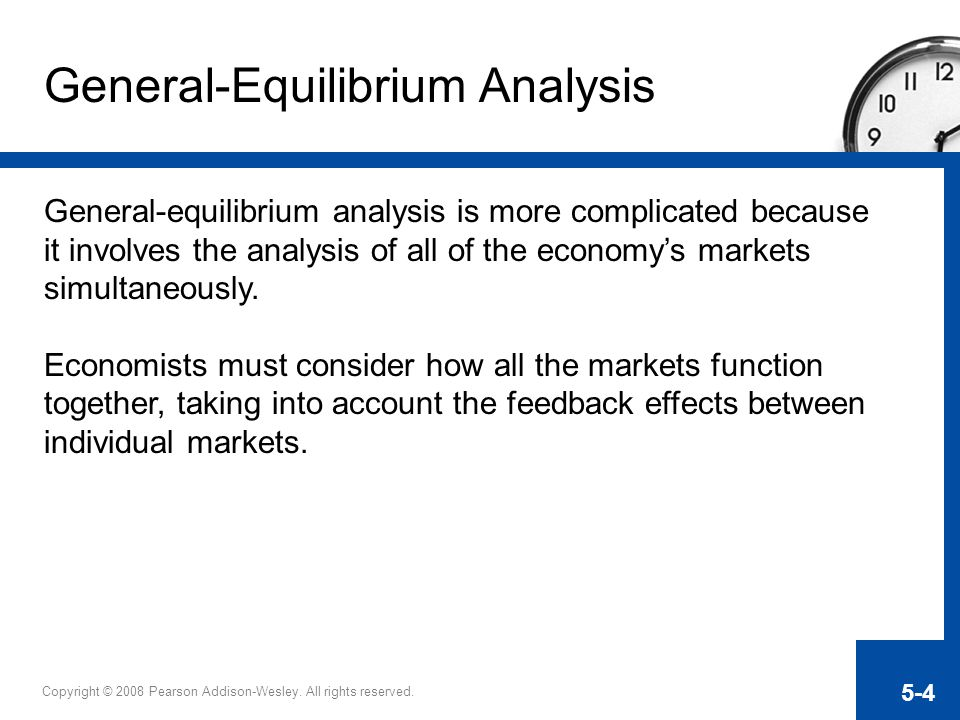 General-Equilibrium Analysis