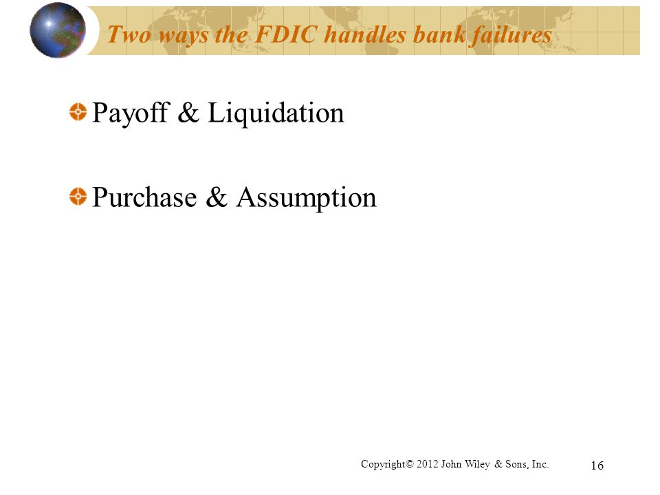 Two ways the FDIC handles bank failures