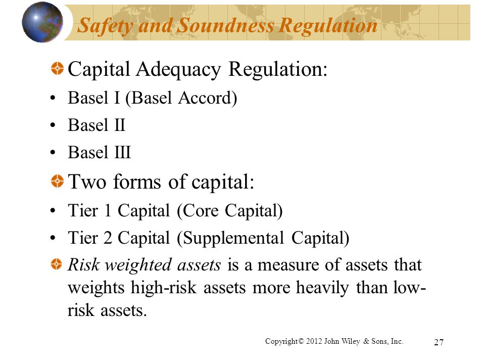 Safety and Soundness Regulation
