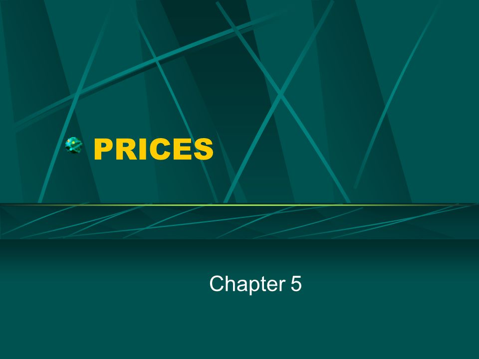PRICES Chapter 5