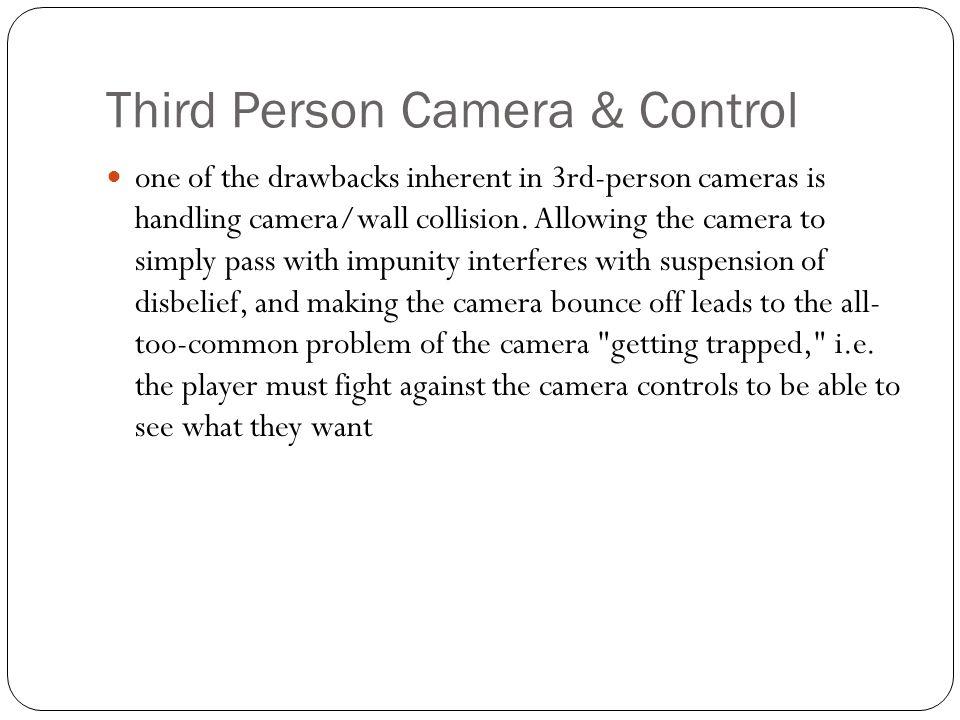 Third Person Camera & Control