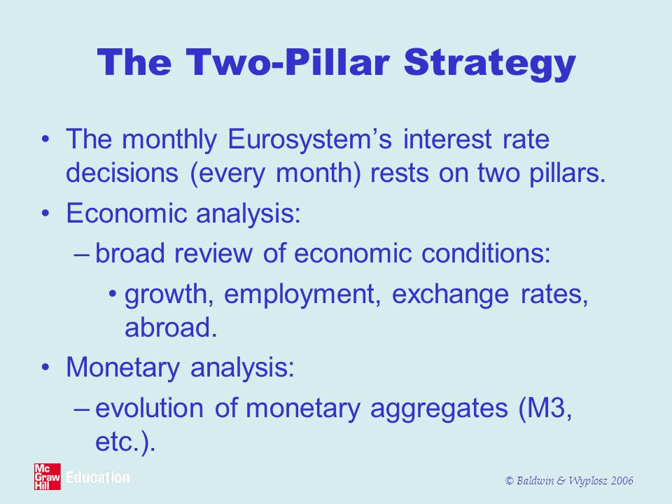 The Two-Pillar Strategy