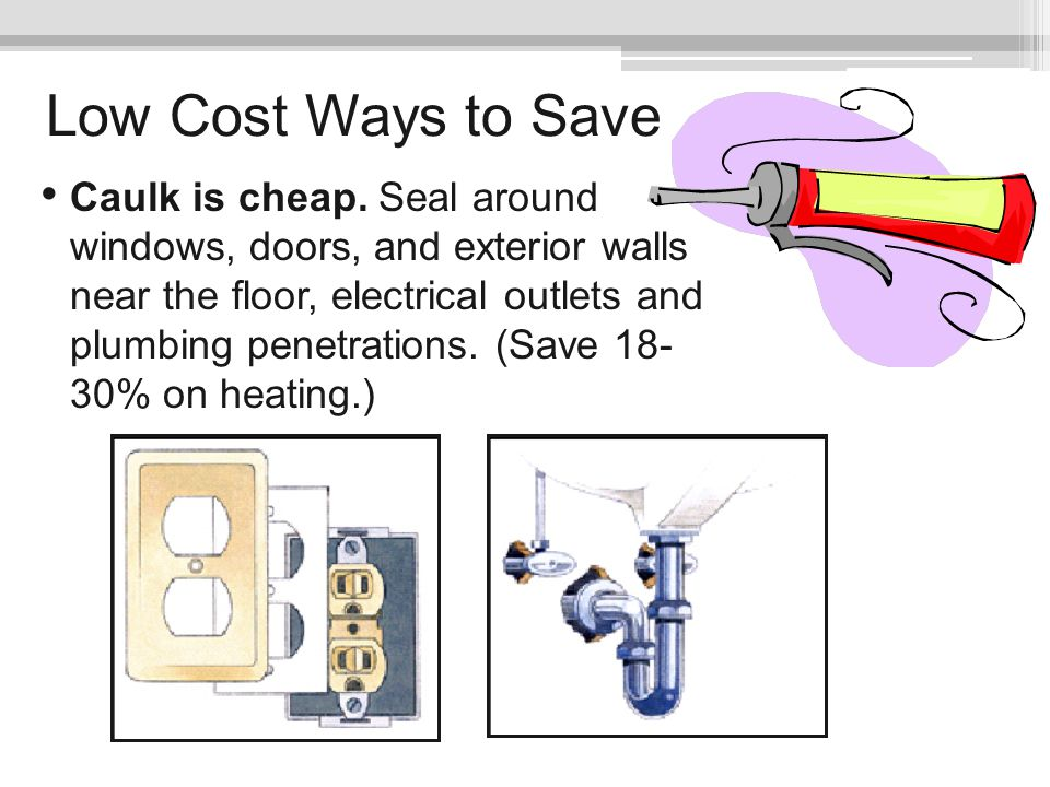 Low Cost Ways to Save