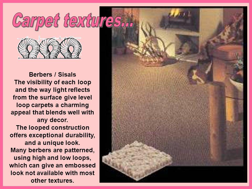 Carpet textures...