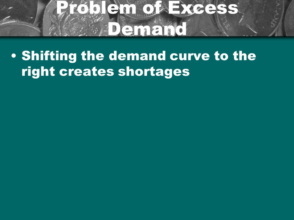 Problem of Excess Demand