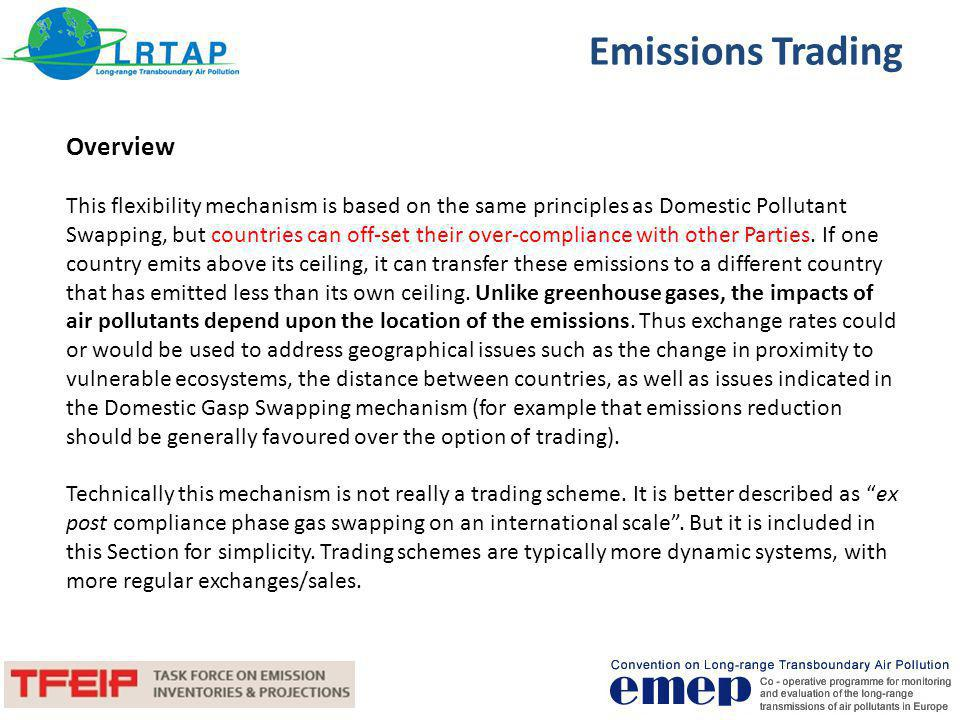 Emissions Trading Overview