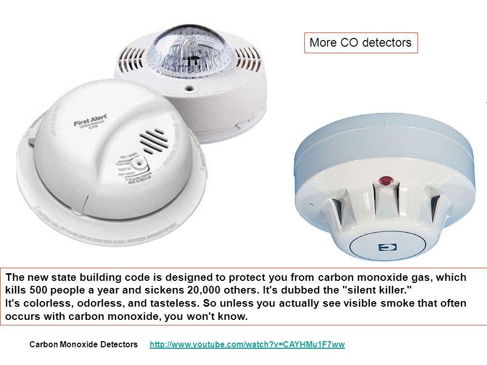 More CO detectors